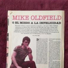 Música de coleção: MIKE OLDFIELD - EL PAIS. Lote 245954550