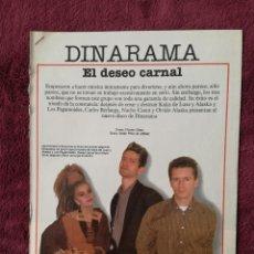 Música de coleção: ALASKA DINARAMA - -EL PAIS. Lote 245956805