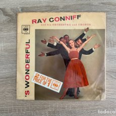 Música de colección: RAY CONNIFF 'S WONDERFUL. Lote 246240170