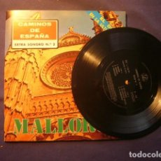 Música de colección: CAMINOS DE ESPAÑA - MALLORCA - EXTRA SONORO Nº 2 (INCLUYE FLEXI DISCO). Lote 246444030