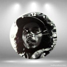 Música de colección: RELOJ DE DISCO LP DE BOB MARLEY. Lote 248056005