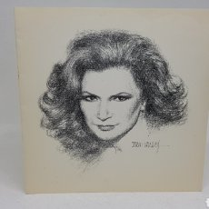 Música de colección: RARISIMA INVITACIÓN A CENA HOMENAJE INAUGURACION PLAZA Y MONUMENTO ROCÍO JURADO 1994 CHIPIONA. Lote 90968252