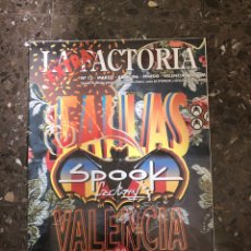 Música de colección: SPOOK FACTORY REVISTA LA FACTORIA DISCOTECA VALENCIA RUTA BAKALAO. Lote 254229565