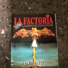 Música de colección: SPOOK FACTORY REVISTA LA FACTORIA DISCOTECA VALENCIA RUTA BAKALAO. Lote 254229795