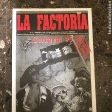 Música de colección: SPOOK FACTORY REVISTA LA FACTORIA DISCOTECA VALENCIA RUTA BAKALAO. Lote 254230045