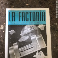 Música de colección: SPOOK FACTORY REVISTA LA FACTORIA DISCOTECA VALENCIA RUTA BAKALAO. Lote 254230650