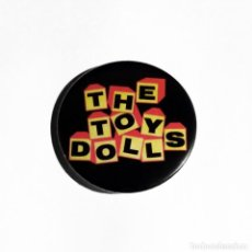 Música de colección: TOY DOLLS - LOGO IMÁN NEVERA 59MM - PUNK ROCK. Lote 254290000