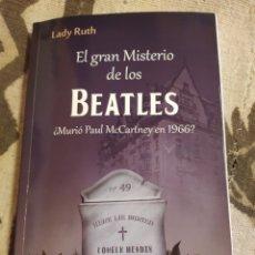 Música de colección: EL GRAN MISTERIO DE LOS BEATLES LADY RUTH . LIBRO BUEN ESTADO.. Lote 261592580