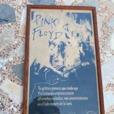 Música de colección: PINK FLOYD, IMAGEN ENMARCADA, VER FOTOS (3,33 ENVÍO CERTIFICADO). Lote 261867145