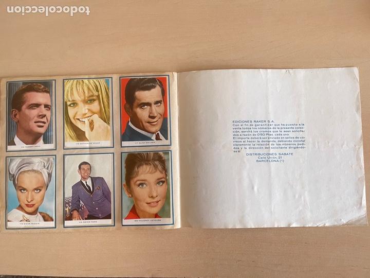 Música de colección: BEATLES - ÀLBUM COMPLETO ESTRELLAS DEL CINE Y DE LA TV - Foto 12 - 261980765