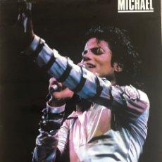 Música de colección: CARTEL MICHAEL JACKSON PROMOCIONAL MATUTANO / PEPSI MIDE 50 X 70 CMTS. Lote 262240955