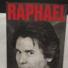 Música de colección: PROGRAMA RAPHAEL GIRA TEATRAL DESDE EL FONDO DEL ALMA PEPETO. Lote 262626420