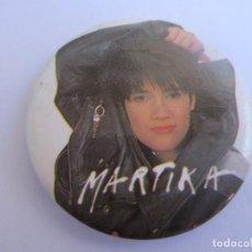 """Música de colección: CHAPA METALICA DE """"MARTIKA"""". NUEVA, A ESTRENAR. Lote 262917320"""