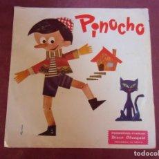 Música de colección: SINGLE. PINOCHO.CUENTOS INFANTILES.1973.MARFER.PROMOCION STARLUX.. Lote 262951220