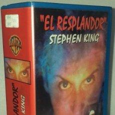 Música de colección: ANTIGUO VHS DOBLE EL RESPLANDOR STEPHEN KING. Lote 262954585