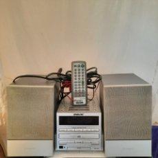 Música de colección: SONY MINICADENA CD CASETES RADIO CON MANDO.. Lote 263183330