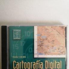 Musique de collection: CARTOGRAFÍA DIGITAL. SIERRA NEVADA. ALPINA. Lote 265109389