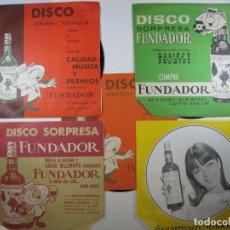 Musique de collection: LOTE 60 DISCOS FUNDADOR AÑOS 1962, 1963, 1964 Y 1967. Lote 267047599