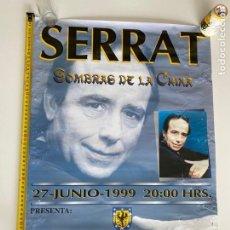 Música de coleção: POSTER-AFICHE ORIGINAL JOAN MANUEL SERRAT 1999 CONCEPCIÓN (CHILE).VER FOTOS.(3,33 ENVÍO CERT). Lote 268041619