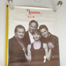 Música de coleção: POSTER-AFICHE ORIGINAL EL GUSTO ES NUESTRO1996.ANA BELÉN,SERRAT... 1996.VER FOTOS.(3,33 ENVÍO CERT). Lote 268041944