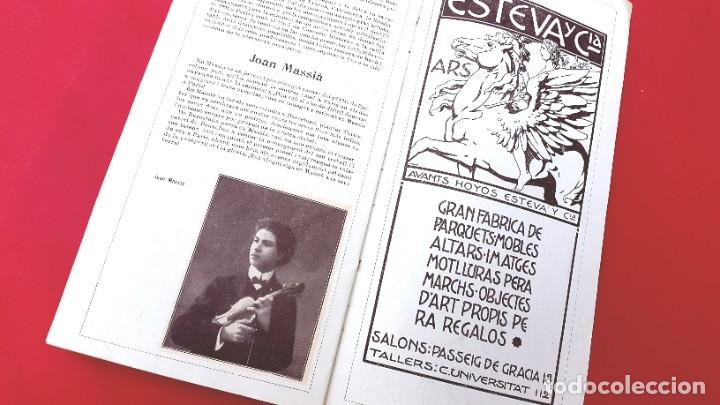 Música de colección: PROGRAMA - 1911 - FESTIVALS BACH - PROGRAMA GENERAL - PALAU DE LA MÚSICA - Foto 6 - 269313793