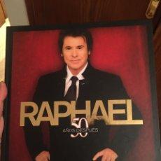 Música de colección: RAPHAEL - 50 AÑOS DESPUÉS. Lote 275241858