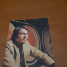 Música de coleção: POSTAL TARJETA DISCOGRAFICA POLYDOR NINO BRAVO. Lote 276187643
