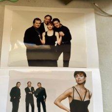 Música de colección: CARPETA PRENSA CON FOTOS EL GUSTO ES NUESTRO 1996, SERRAT, ANA BELÉN...VER FOTOS.3,33 ENVÍO CERT.. Lote 278803328