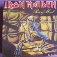 Musique de collection: IRON MAIDEN - PIECE OF MIND (SOLO CARATULA DEL LP). Lote 282056998