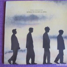 Musique de collection: ECHO AND THE BUNNYMEN - SONGS TO LEARN AND SING (SOLO CARATULA DEL LP). Lote 284397508