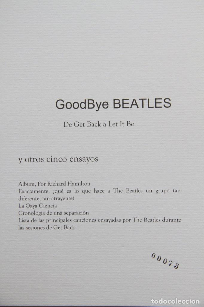 Música de colección: GoodBye BEATLES - Foto 4 - 284504778
