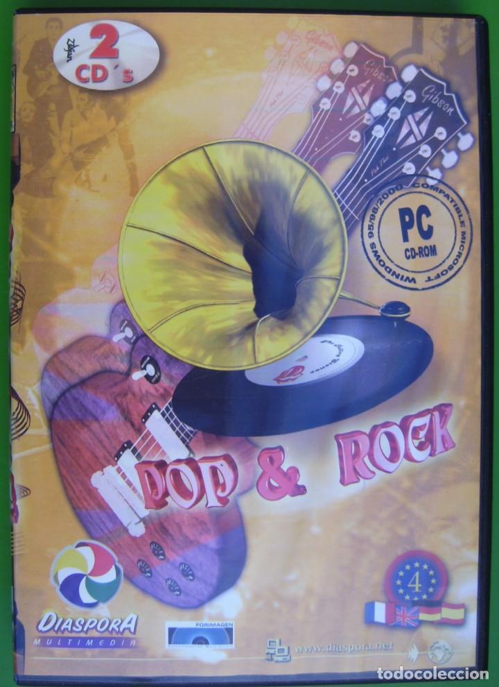 POP & ROCK (ENCICLOPEDIA MULTIMEDIA EN 2 CD-ROM) (Música - Varios)
