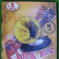 Música de colección: POP & ROCK (ENCICLOPEDIA MULTIMEDIA EN 2 CD-ROM). Lote 286341248