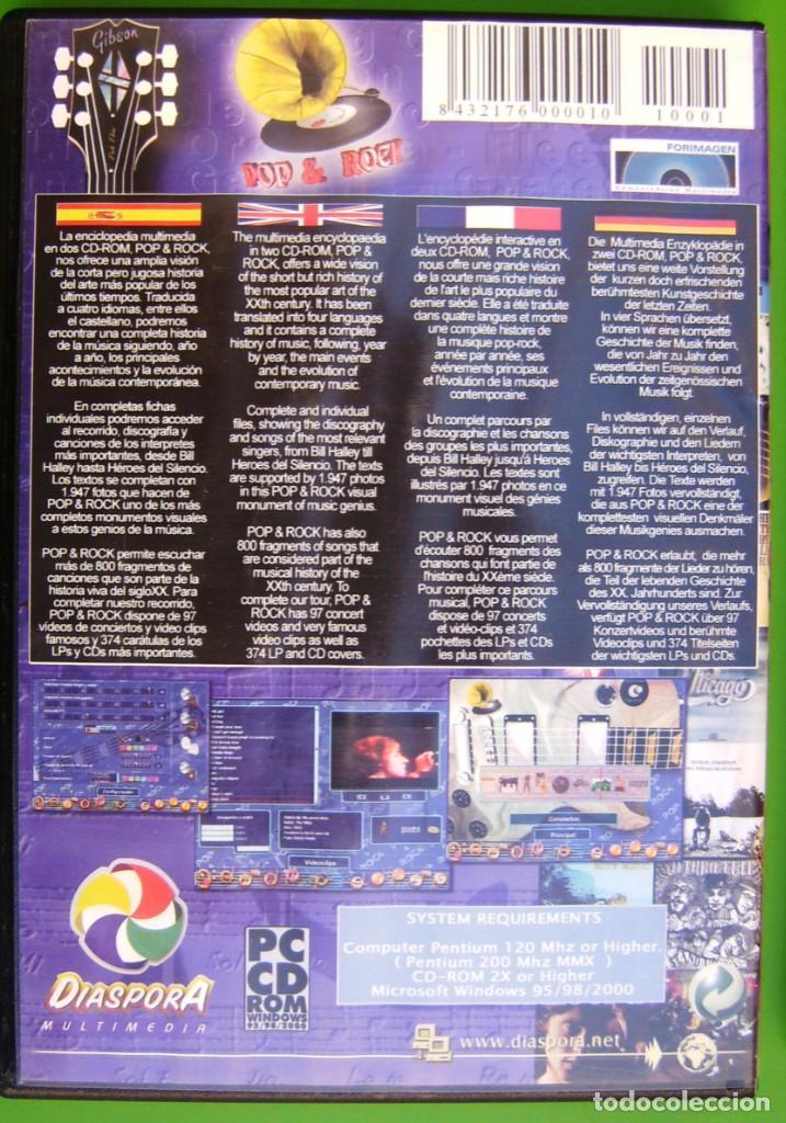 Música de colección: Pop & Rock (Enciclopedia multimedia en 2 CD-ROM) - Foto 2 - 286341248