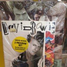 Musique de collection: DAVID BOWIE 2 PROGRAMAS DE CONCIERTOS PRECINTADO. Lote 286930053
