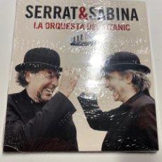 """Musica di collezione: CD SERRAT & SABINA """"LA ORQUESTA DEL TITANIC"""" A ESTRENAR.(3,97 ENVÍO CERTIFICADO). Lote 287378548"""