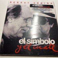 """Musica di collezione: SERRAT & SABINA """"EL SIMBOLO Y EL CUATE"""" CD/DVD NUEVO A ESTRENAR.(3,97 ENVÍO CERTIFICADO). Lote 287379313"""