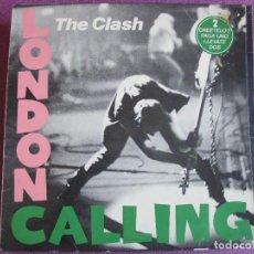 Música de colección: THE CLASH - LONDON CALLING (SOLO CARATULA DEL LP). Lote 287983403