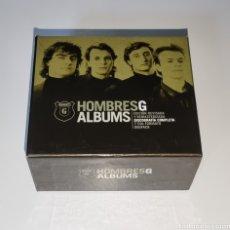 Música de colección: HOMBRES G / CAJA BOX SET VACÍA / ALBUMS. Lote 288138458