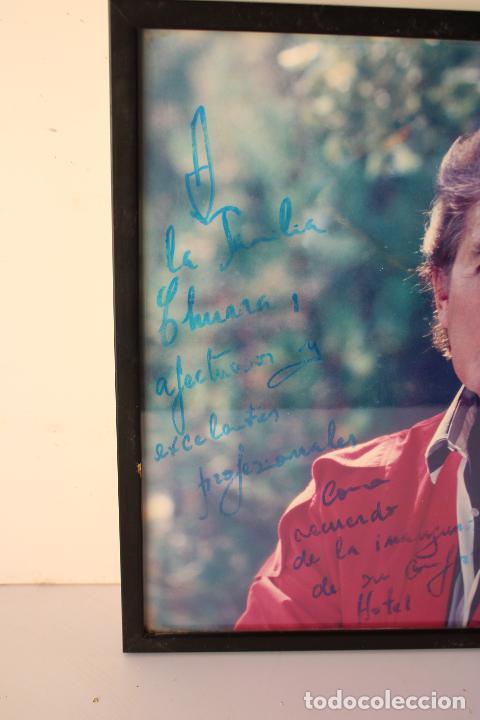 Música de colección: autógrafo cuadro Foto de : Famoso luis aguilé en 1991 - Foto 3 - 288435593
