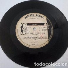 Música de colección: THE FIRST EDITION ENCONTRANDOSE A SI SIMPLE ARGENTINO. Lote 289046273