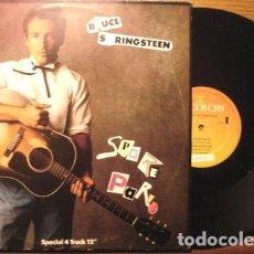 Música de colección: MAXI 12 PROMO BRUCE SPRINGSTEEN SPARE PARTS BRASIL 1987. Lote 289046288