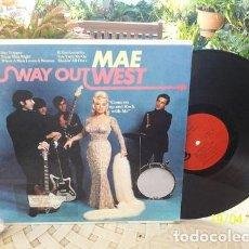 Música de colección: MAE WEST USA MONO IMPECABLE 1966 WAY OUT WEST. Lote 289046353