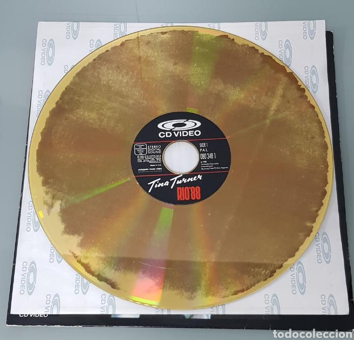 Música de colección: TINA TURNER RIO 88 CD VIDEO LASER DISC - Foto 2 - 289616968