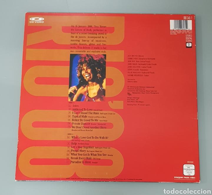 Música de colección: TINA TURNER RIO 88 CD VIDEO LASER DISC - Foto 3 - 289616968