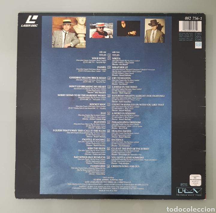 Música de colección: THE VERY BEST OF ELTON JOHN LASER DISC - Foto 2 - 289618048