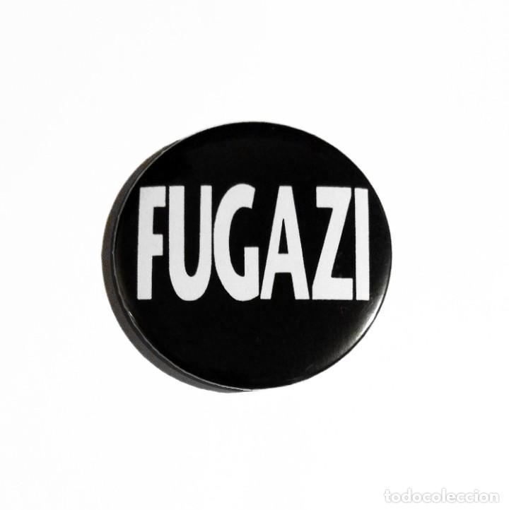 FUGAZI - LOGO ABREBOTELLAS 59MM (CON IMÁN PARA NEVERA) - POST-HARDCORE ROCK ALTERNATIVO (Música - Varios)