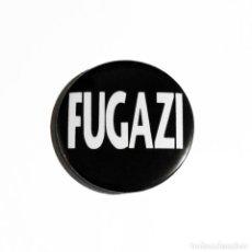 Música de colección: FUGAZI - LOGO ABREBOTELLAS 59MM (CON IMÁN PARA NEVERA) - POST-HARDCORE ROCK ALTERNATIVO. Lote 289957723