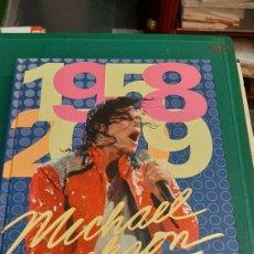 Música de colección: MICHAEL JACKSON 1958/2009 LIBRO FOTOS HISTORIA BUEN ESTADO. Lote 294789823