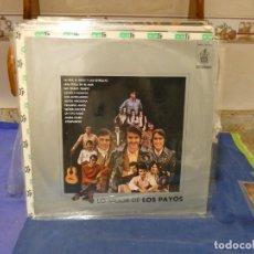 Música de colección: EXPRO LP ESPAÑA 1971 LO MEJOR DE LOS PAYOS BUEN ESTADO GENERAL. Lote 294977688